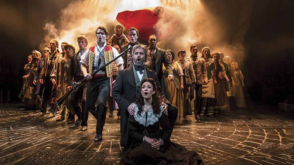 a review les miserables When les misérables, the lavish stage musical based on victor hugo's classic book, opened in london exactly 30 years ago, time's reviewer didn't exactly hold back: the show was thrilling.