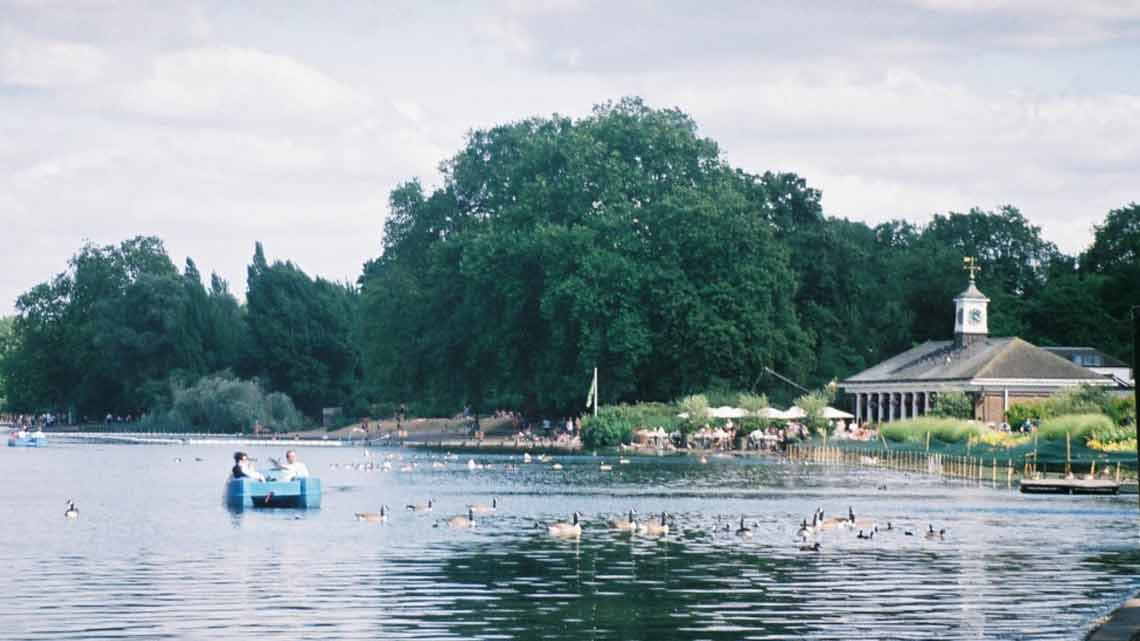 The Serpentine, London