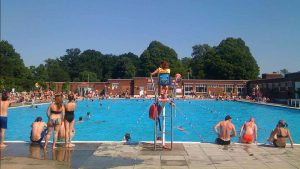 Brockwell Lido. Photo: David Sim
