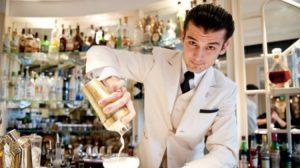 Erik Lorincz at the American Bar at the Savoy Hotel London