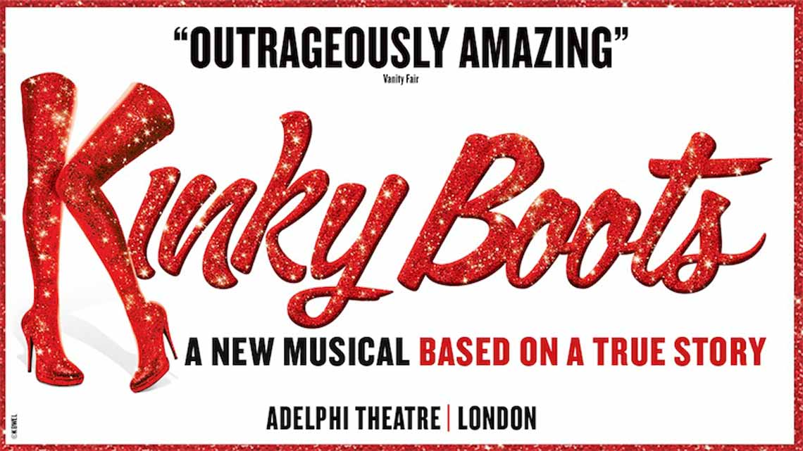 Kinky Boots at the Adelphi Theatre