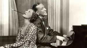 Gertrude Lawrence and Noël Coward in Private Lives, 1931 - Times Square Theatre, New York., © Vandamm Studio. Courtesy of Billy Rose Theatre Division, The New York Public Library for the Performing Arts.